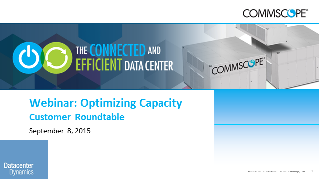 Live Customer Roundtable: Optimizing Capacity (12:00 EST)