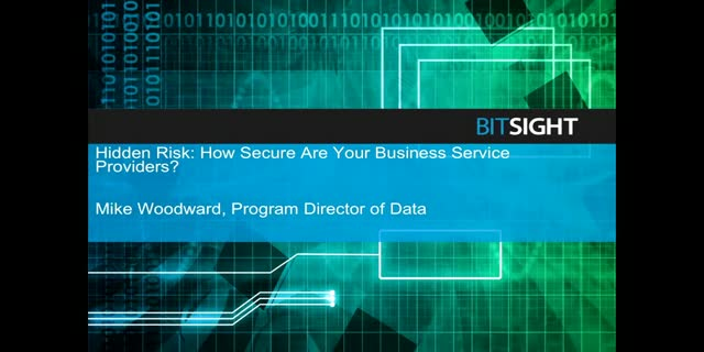 How Secure Are Your Business Service Providers?