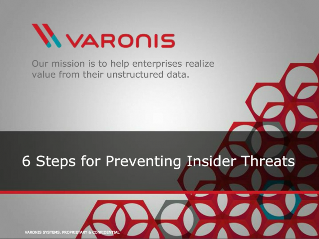 6 Steps for Preventing Insider Threats