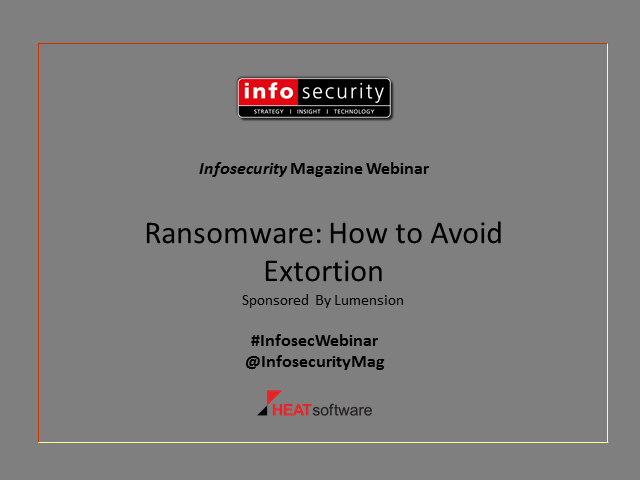 Ransomware: How to Avoid Extortion