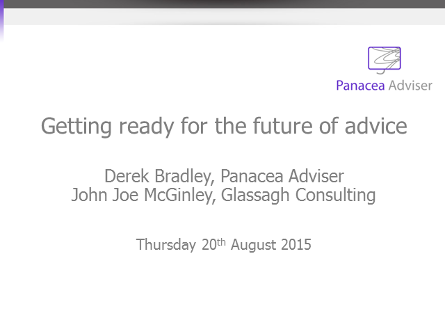 Getting Ready for the Future of Advice