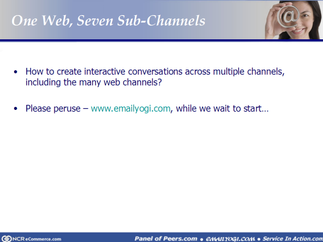One Web, Seven Sub-Channels