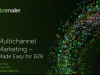 Multichannel marketing. Made easy for B2B.