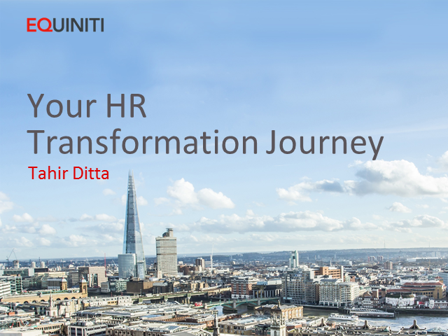 Your HR Transformation Journey