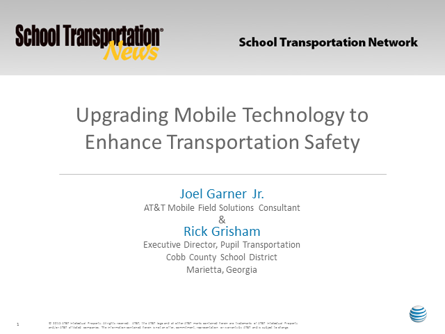 Upgrading Mobile Technology to Enhance Transportation Safety