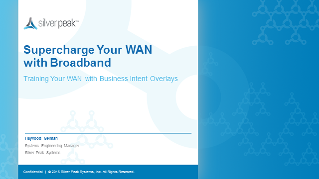 Supercharge Your WAN with Broadband