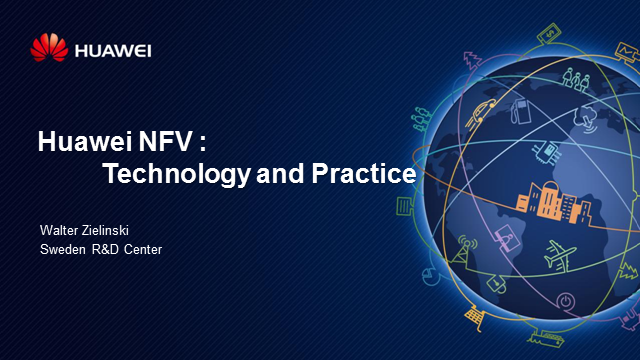 Huawei NFV practices and key technical factors