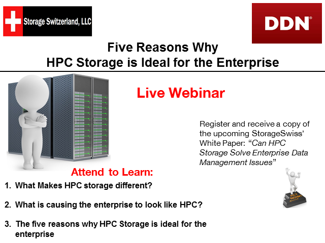Five Reasons the Enterprise Needs HPC Technology
