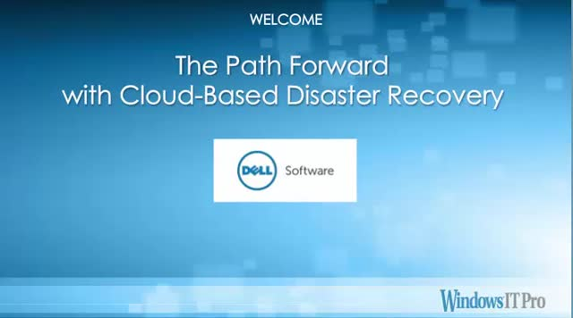 The Path Forward with Cloud-Based Disaster Recovery