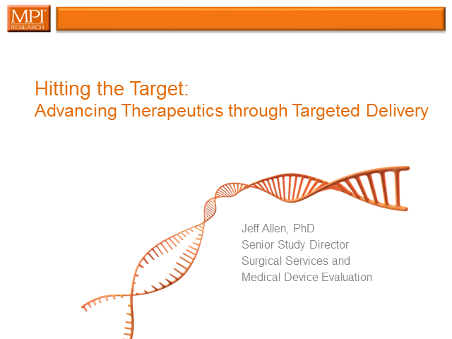 Hitting the Target: Advancing Therapeutics Through Targeted Delivery