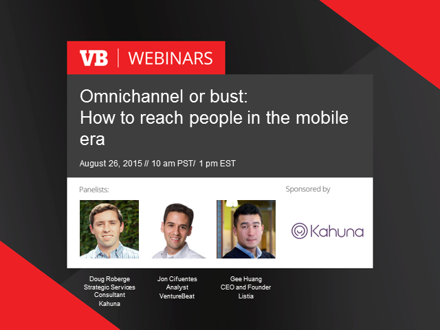 Omnichannel or Bust: How to Reach People In The Mobile Era