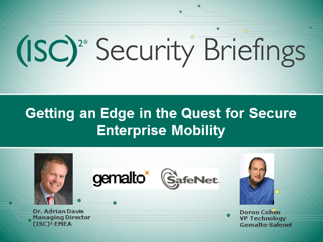 Identity Protection: Getting an Edge in the Quest for Secure Enterprise Mobility