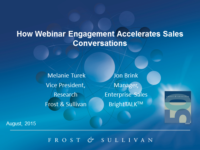 How Webinar Engagement Data Accelerates Sales Conversations
