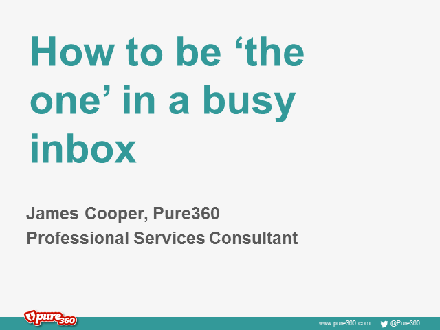 How to be 'the one' in a busy inbox