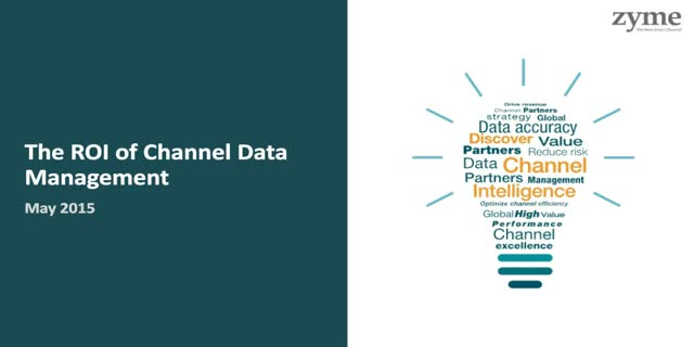 The ROI of Channel Data Management