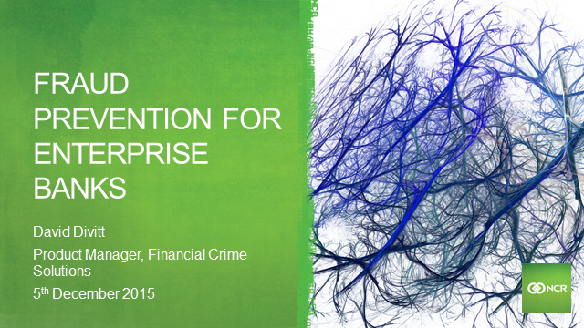 Enterprise Fraud Prevention for Retail Banks