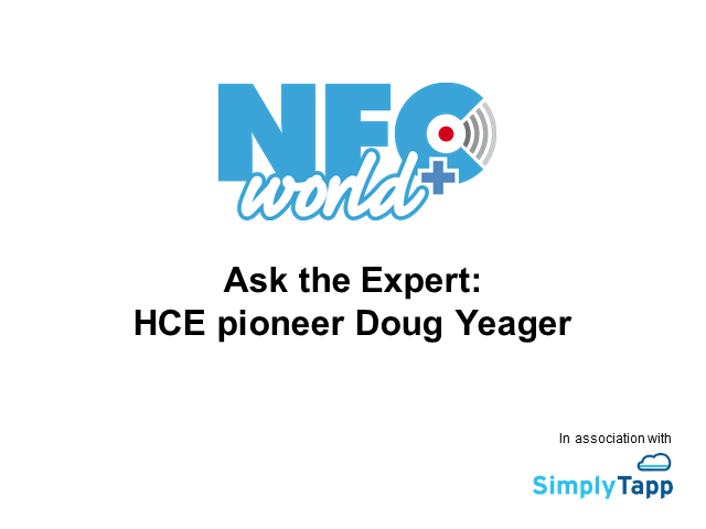 Ask the Expert: HCE pioneer Doug Yeager