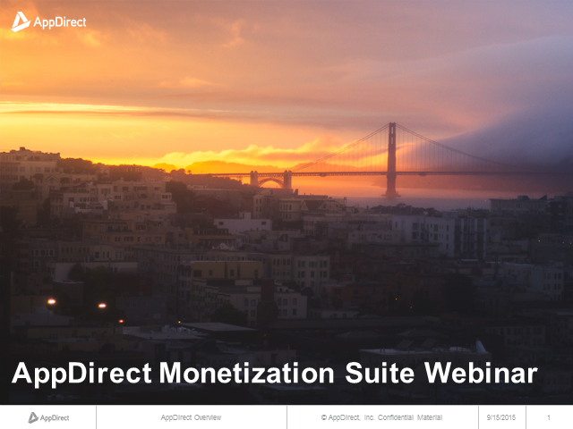 Your Guide to the AppDirect Monetization Suite