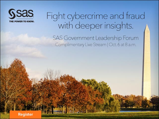 SAS Government Leadership Forum Livestream