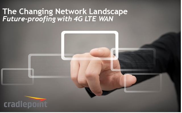 The Changing Network Landscape | Future-Proofing with 4G LTE WAN