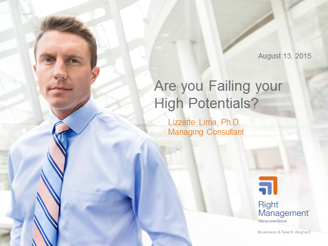 Are you failing your High Potentials?