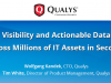 Visibility and Actionable Data Across Millions of IT Assets in Seconds