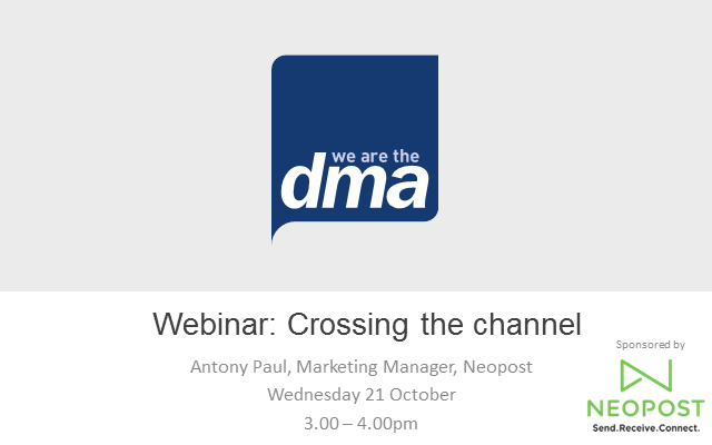 Webinar: Crossing the channel
