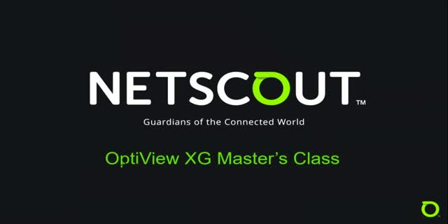 Optiview XG Masterclass