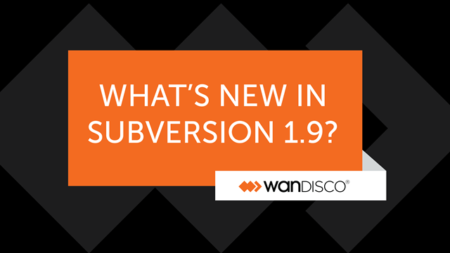 What's New in Subversion 1.9