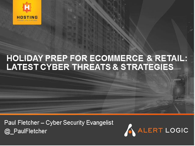 Holiday Prep for Ecommerce & Retail: Latest Cyber Threats & Strategies