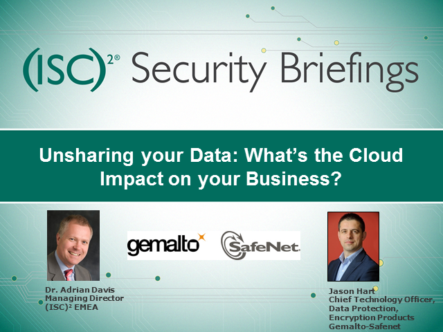 Unsharing your Data: What's the Cloud Impact on your Business?