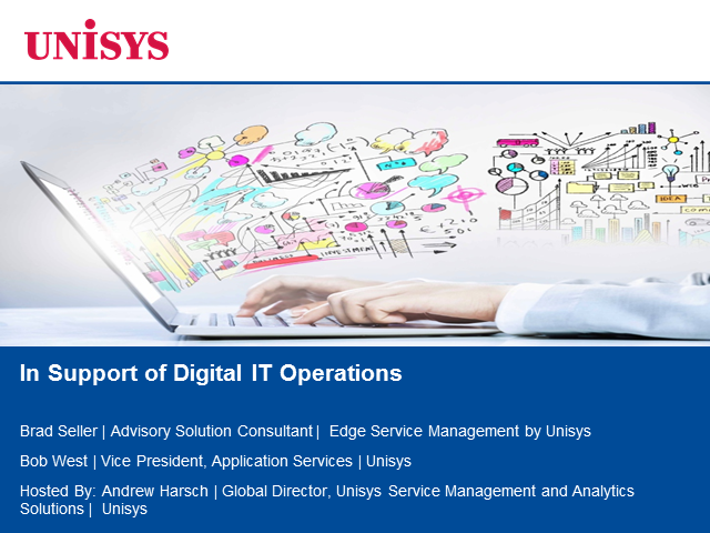 In Support of Digital IT Operations