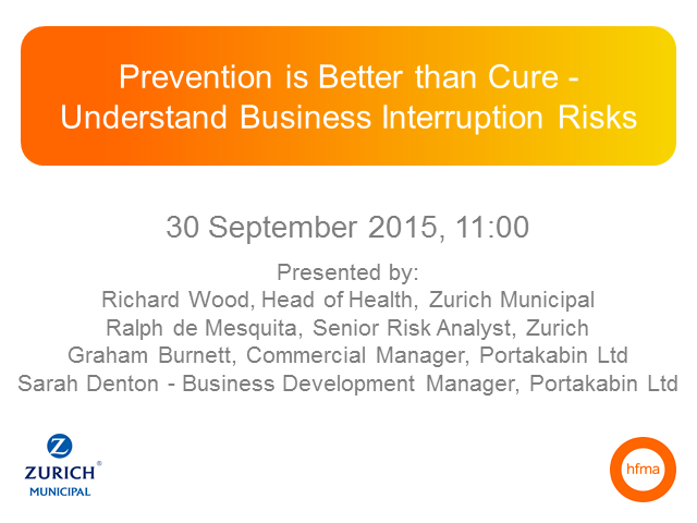 Prevention is Better than Cure - Understand Business Interruption Risks