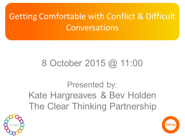 Getting Comfortable with Difficult Conversations