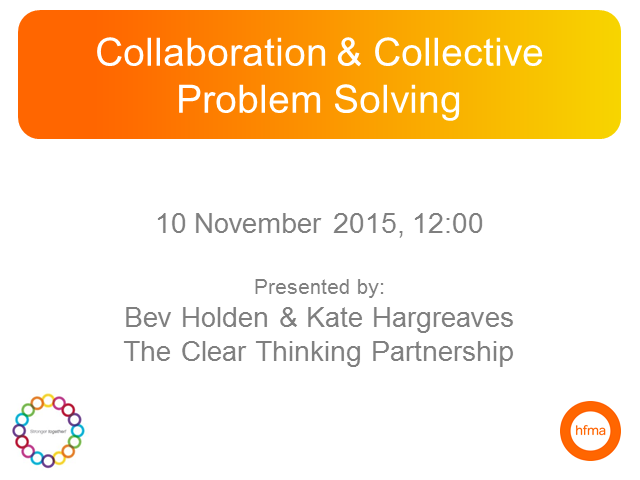 Collaboration and Collective Problem Solving