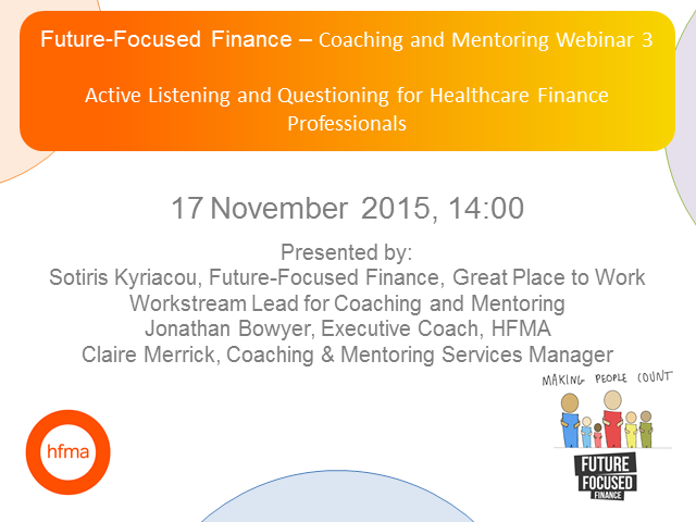 Future-Focused Finance - Active Listening and Powerful Questioning