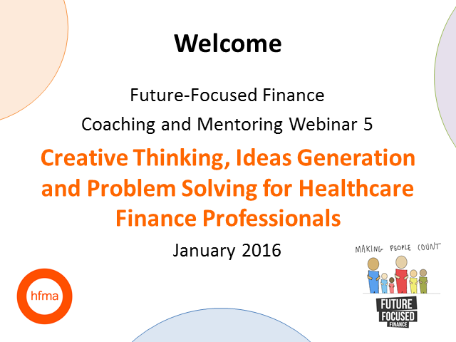 Future-Focused Finance - Creative Thinking, Ideas Generation and Problem Solving