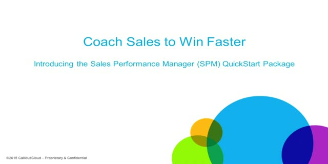 Coach Sales to Win Faster