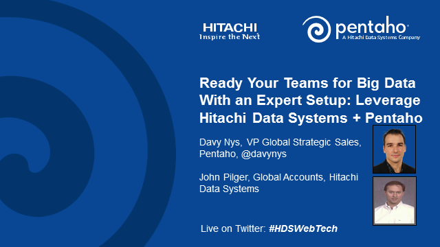 Ready Your Teams for Big Data with an Expert Setup: Leverage Hitachi Data System