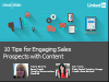 10 Tips for Engaging Sales Prospects with Content
