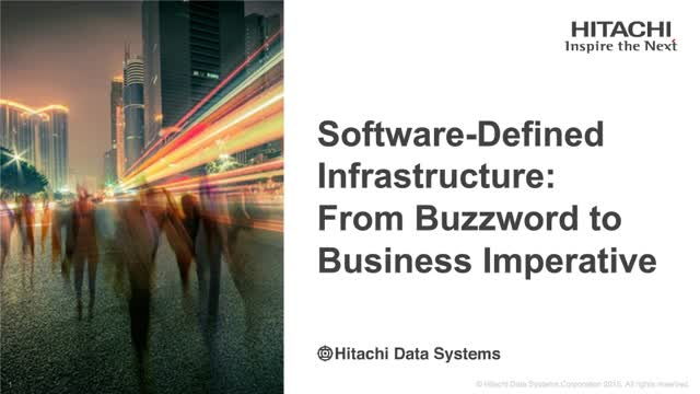 Software-Defined Infrastructure: From Buzzword to Business Imperative