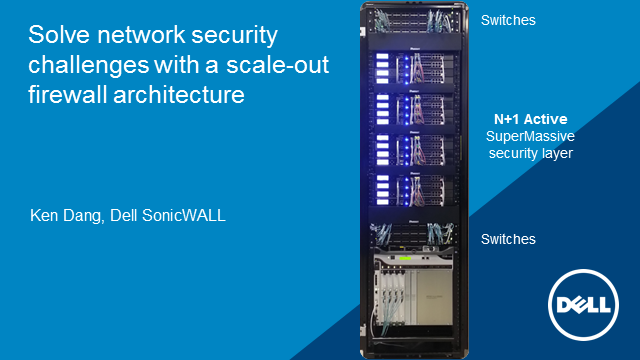 Solve network security challenges with a scale-out firewall architecture