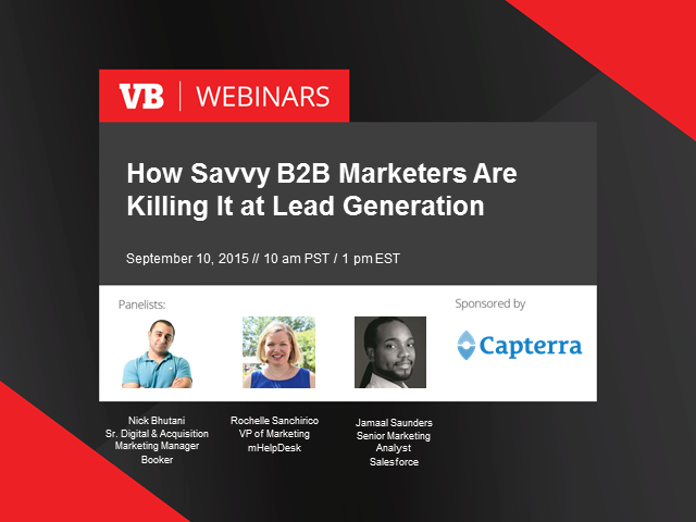 How Savvy B2B Marketers are Killing It at Lead Gen