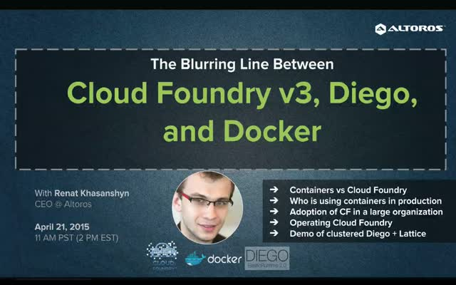 Cloud Foundry vs. Diego vs. Docker_full version