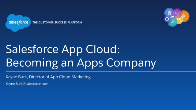 Becoming an Apps Company