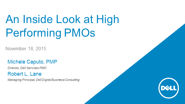 An Inside Look at High-Performing PMOs