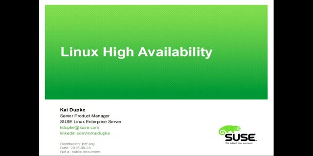 Why High Availability is Still Needed
