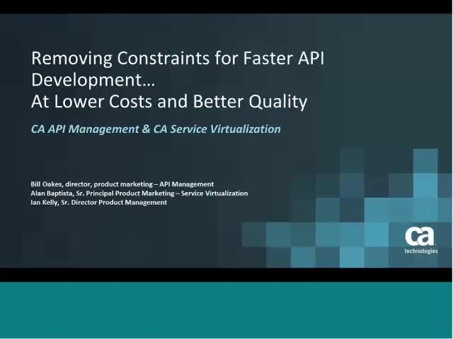 How to Remove Constraints for Faster API Development