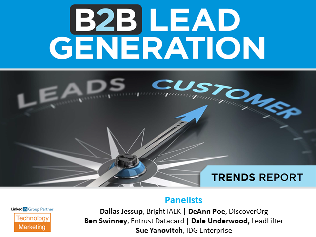 The 5 Biggest Trends for B2B Lead Generation Success