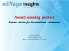 Award winning posters: Success stories for the ambitious researcher